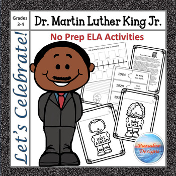CCSS Martin Luther King Jr. Informational Text Based Writing Assignment