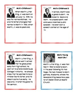 Martin Luther King, Jr. Informational Writing Pack