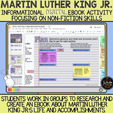Martin Luther King Jr. Informational eBook Activity: Non-f