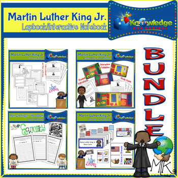 Martin Luther King Jr. Interactive BUNDLE - Black History Month