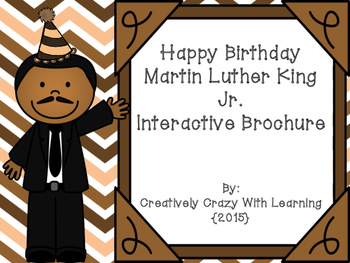 Martin Luther King Jr. Interactive Brochure