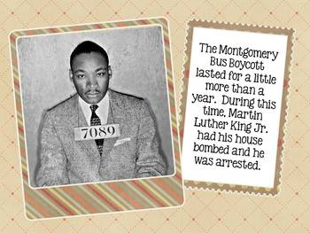 Martin Luther King Jr. Interactive E-Book for Smartboard