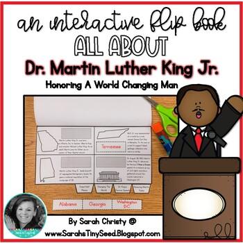 Martin Luther King Jr. Interactive Flip Book- MLK
