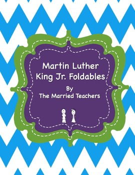 Martin Luther King Jr. Interactive Historical Figure Foldables