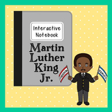 Martin Luther King, Jr. Interactive Notebook, Civil Rights, Black History Month