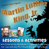 Martin Luther King, Jr. Interactive Notebook / Lapbook Activities with Test Prep