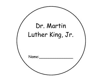 Martin Luther King, Jr. Interactive Reader