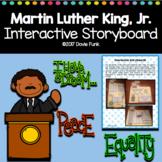 Martin Luther King, Jr. Interactive Lapbook Storyboard Activity MLK