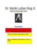 Martin Luther King Jr. Internet Scavenger Hunt