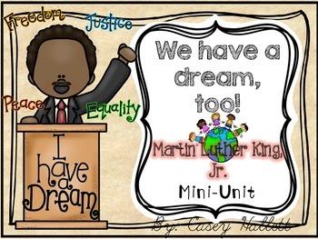 Martin Luther King, Jr {K-2 Mini-Unit}