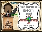 Martin Luther King, Jr {K-2 Mini-Unit}