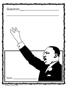 Martin Luther King Jr. K-2nd Gr. Worksheets