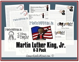 Martin Luther King, Jr K-3 Learning Pack