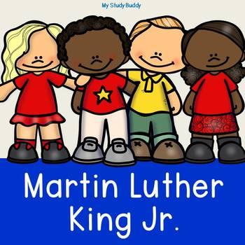 martin luther king jr kindergarten mlk january activities tpt