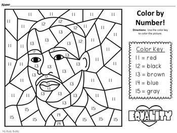 Martin Luther King Jr Day Worksheets Kindergarten