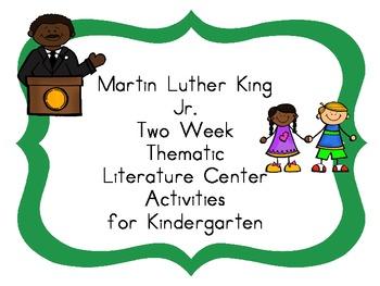 Martin Luther King Jr Kindergarten Literacy Centers