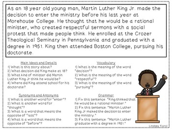 Martin Luther King Jr. Language Pack