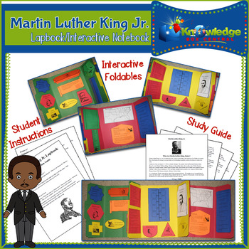 Martin Luther King Jr. Lapbook