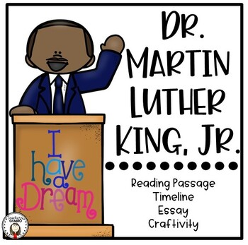 Martin Luther King, Jr. Lapbook