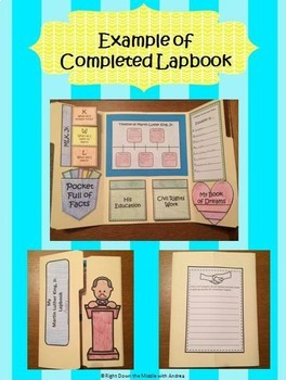 Martin Luther King, Jr. Lapbook Activity