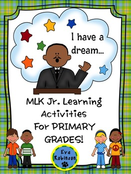 Martin Luther King Jr. Learning Activities for Primary Grades!