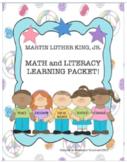 Martin Luther King Jr. Learning Packet Google Slides Independent Workbook