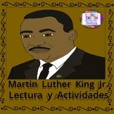 Martin Luther King Jr./Lectura-Actividades
