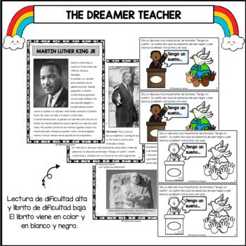 Martin Luther King Jr. Lectura, libritos y actividades by The ...