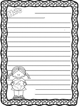 Martin Luther King Jr. Letter Writing Templates