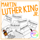 Martin Luther King Jr - Literacy Writing Activity Pack
