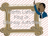 Martin Luther King Jr Literacy Fun