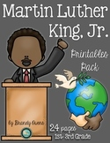 Martin Luther King, Jr. Literacy Printables Pack