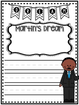 Martin Luther King, Jr:  Literacy Unit