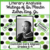 Martin Luther King, Jr. Literary Analysis