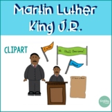 Martin Luther King Jr. {Little Country Teacher Designs Clipart}
