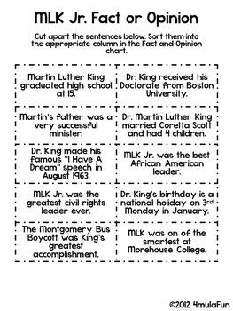 Martin Luther King Jr (MLK) Activity Bundle