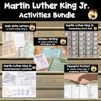 Martin Luther King, Jr. (MLK) Activity Bundle
