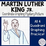 Martin Luther King Jr.(MLK) Coordinate Graphing Mystery Picture