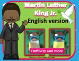 Martin Luther King Jr.  MLK  English Craftivity Writing, Math & Art Mrs. Partida