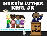 Martin Luther King Jr. Reader First Grade & Kindergarten Social Studies