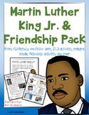 Martin Luther King Jr. MLK Kindergarten, First Grade or Pr