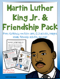 Martin Luther King Jr. MLK Kindergarten, First Grade or Pr