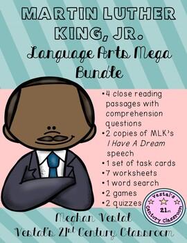 Martin Luther King, Jr. Language Arts Mega Bundle