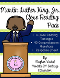 Martin Luther King, Jr. Close Reading Passages