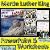Martin Luther King Jr. MLK PowerPoint Quiz Lesson