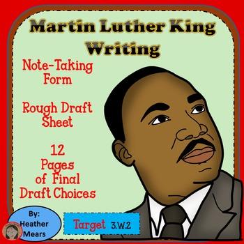 Martin Luther King Jr. MLK Writing