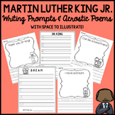 Martin Luther King Jr. MLK Writing Prompts
