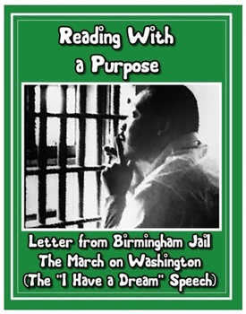Martin Luther King Jr: March on DC, SCLC, Birmingham (4th and 5th Common Core)
