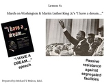 Martin Luther King, Jr. & March on Washington for US Histo