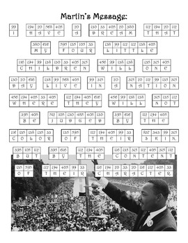 Martin Luther King Jr. Math: Multiplication